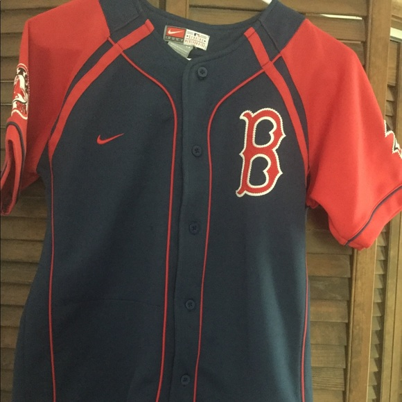 cheaper 56613 2262c Boston Red Sox Shirt Nike